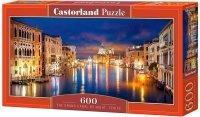 Puzzle 600 Castorland B-060245 Wenecja - Kanał Nocą