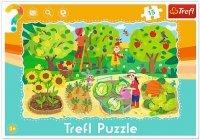 Puzzle Ramkowe 15 Trefl 31218 Ogród