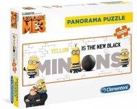 Puzzle 1000 Clementoni 39409 Minionki - Panorama