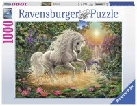 Puzzle 1000 Ravensburger 197934 Mistyczny Jednorożec