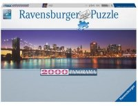 Puzzle 2000 Ravensburger 166947 New York - Panorama