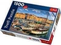 Puzzle 1500 Trefl 26130 Stary Port - Saint Tropez
