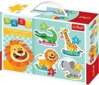 Puzzle Baby Classic Trefl T-36054 Safari