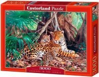 Puzzle 3000 Castorland C-300280 Jaguars in the Jungle
