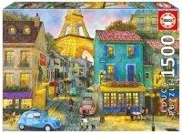 Puzzle 1500 Educa 17122 Ulice Paryża