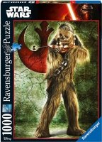 Puzzle 1000 Ravensburger 196814 Star Wars - Chewbacca