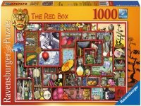 Puzzle 1000 Ravensburger 193981 Czerwone Pudełko