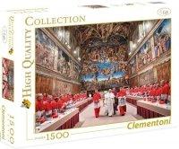 Puzzle 1500 Clementoni 31598 Papież Franciszek