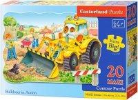 Puzzle 20 Maxi Castorland C-02139 Spychacz