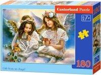 Puzzle 180 Castorland B-018215 Aniołki