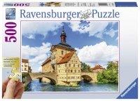 Puzzle 500 Ravensburger XXL 136513 Ratusz - Bamberg
