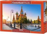 Puzzle 500 Castorland B-52714 Katedra Świętego Bazylego w Moskwie