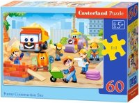 Puzzle 60 Castorland B-06809 Plac Budowy