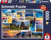 Puzzle 1000 Schmidt 58338 Grecja - Kolaż
