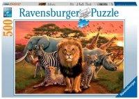 Puzzle 500 Ravensburger 141777 Afrykańskie Zwierzęta