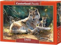 Puzzle 1500 Castorland C-151400 Wilki