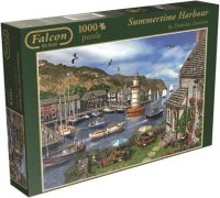 Puzzle 1000 Jumbo 11052 Port Latem - Falcon Falcon