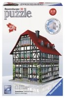 Puzzle 3D 216 Ravensburger 125722 Średniowieczny Dom