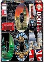 Puzzle 1000 Educa 16786 Londyn - Kolaż