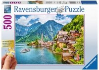 Puzzle 500 Ravensburger 136872 Kościół u Podnóża Góry