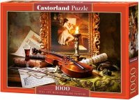 Puzzle 1000 Castorland C-103621 Martwa Natura - Skrzypce