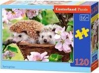 Puzzle 120 Castorland B-13319 Jeże