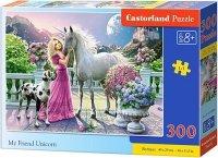 Puzzle 300 Castorland B-030088 Jednorożec - My Friend Unicorn