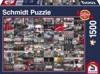 Puzzle 1500 Schmidt 58296 Obrazy Miasta - Kolaż
