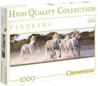 Puzzle 1000 Clementoni 39371 Białe Konie - Panorama