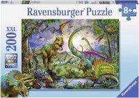 Puzzle 200 Ravensburger 127184 Dinozaury