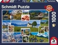 Puzzle 1000 Schmidt 58222 W górach