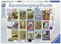 Puzzle 2000 Ravensburger 166022 Wakacyjne Znaczki