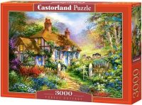 Puzzle 3000 Castorland C-300402 Domek - Forest Cottage