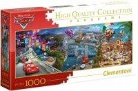 Puzzle 1000 Clementoni 39446 Auta - Cars - Panorama