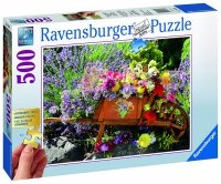 Puzzle 500 Ravensburger XXL 136858 Kwiaty