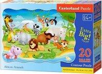 Puzzle 20 Maxi Castorland C-02276 Zwierzęta - African Animals