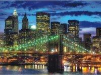 Puzzle 1500 Ravensburger 162727 Nowy York Nocą