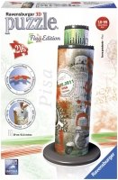 Puzzle 3D 216 Ravensburger 125814 Flag Edition - Wieża w Pizie