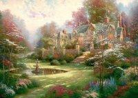 Puzzle 2000 Schmidt 57453 Thomas Kinkade - Wiosenny Ogród