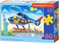 Puzzle 60 Castorland B-066063 Helikopter nad Nowym Jorkiem