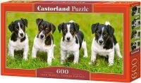 Puzzle 600 Castorland B-060337 Russell Terrier - Szczenięta