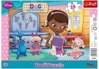 Puzzle Ramkowe 15 Trefl 31206 Klinika Pluszaków