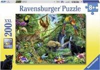 Puzzle 200 Ravensburger 126606 Zwierzęta w Dżungli