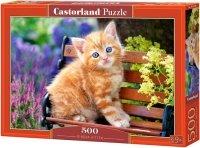 Puzzle 500 Castorland B-52240 Kotek