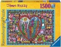Puzzle 1500 Ravensburger 162956 Wszystko Co Kocham