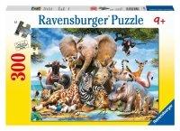 Puzzle 300 Ravensburger 130757 Afrykańscy Przyjaciele