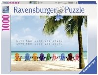 Puzzle 1000 Ravensburger 196357 Live the Life You Love