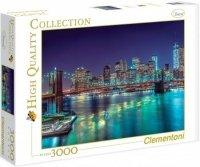 Puzzle 3000 Clementoni 33544 New York Nocą