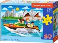 Puzzle 60 Castorland B-066025 Motorówka w Sydney