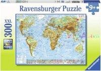 Puzzle 300 Ravensburger 130979 Polityczna Mapa Świata